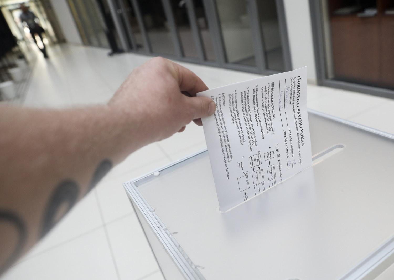 VRK: iki 17.00 val. balsavo 34,16 proc. rinkėjų