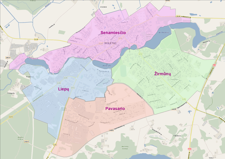 Molėtų miesto gyventojai kviečiami kelti kandidatūras ir rinkti miesto seniūnaitijų seniūnaičius