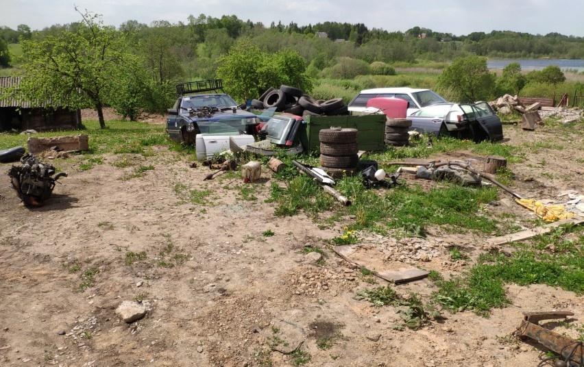 Utenos rajone vyko bendras aplinkosaugininkų ir VMI specialistų reidas
