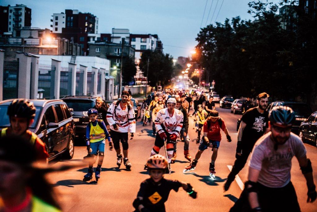 Vilniaus naktinis riedėjimas žada tikrą superherojų fiestą