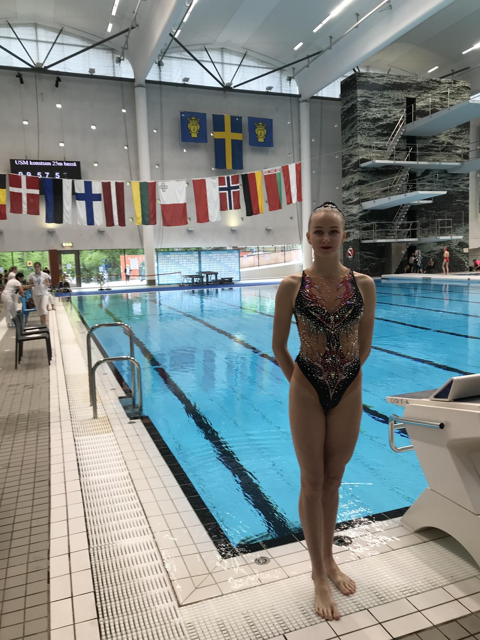 Švedijoje N. Ambzaitė pasipuošė sidabro medaliu