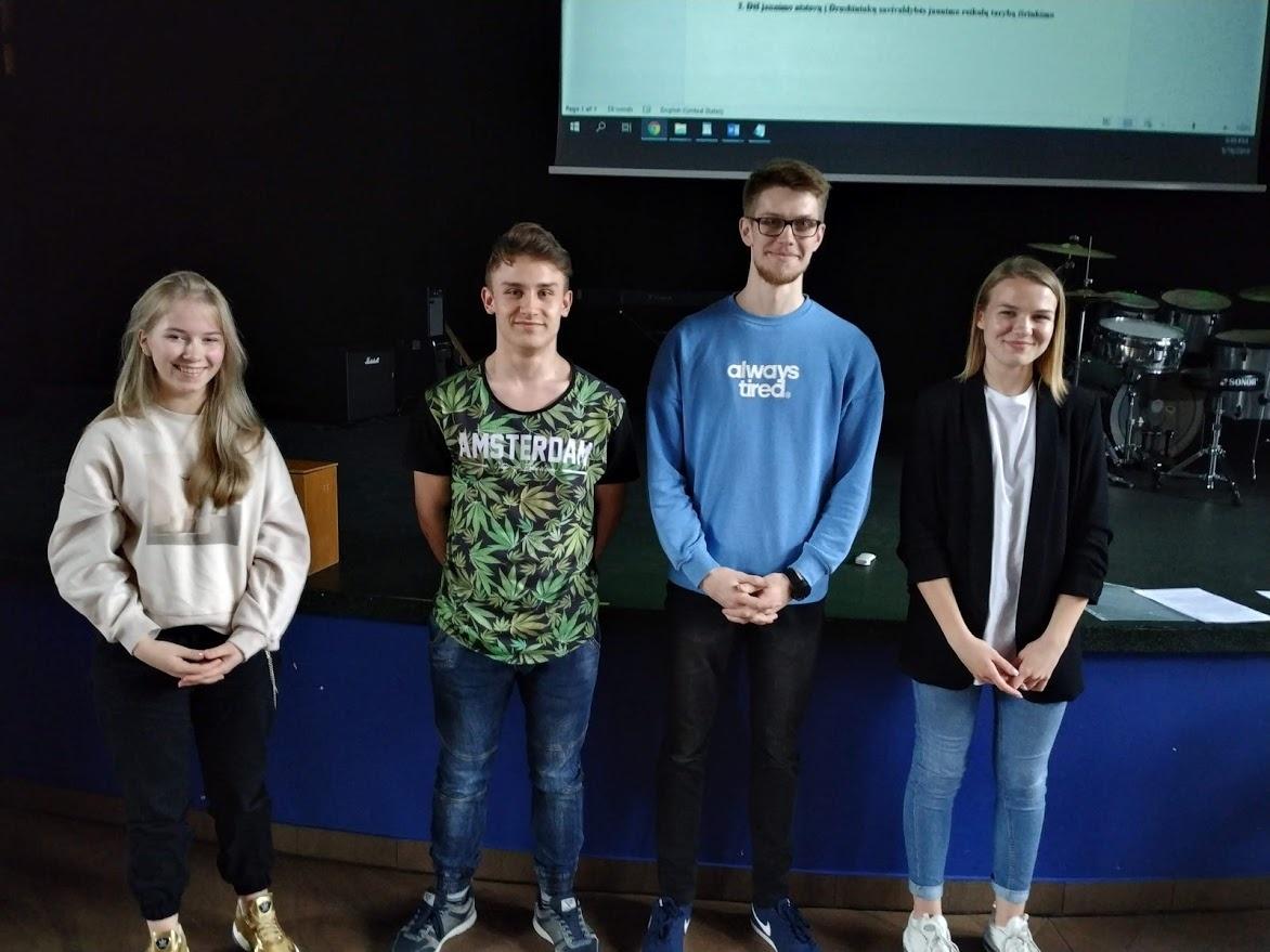 Išrinkti jaunimo atstovai į Druskininkų savivaldybės jaunimo reikalų tarybą