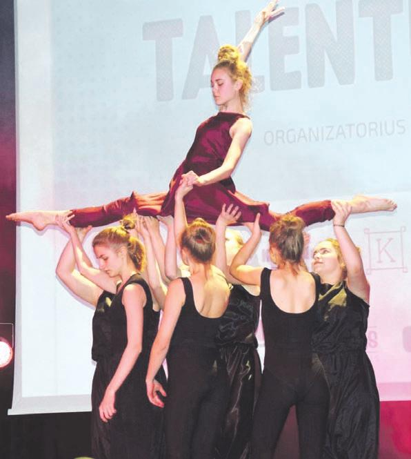 Talentais kibirkščiavo jaunimas