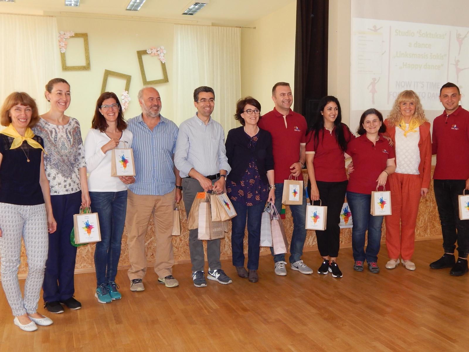 Jurbarke svečiuojasi tarptautinio projekto dalyviai