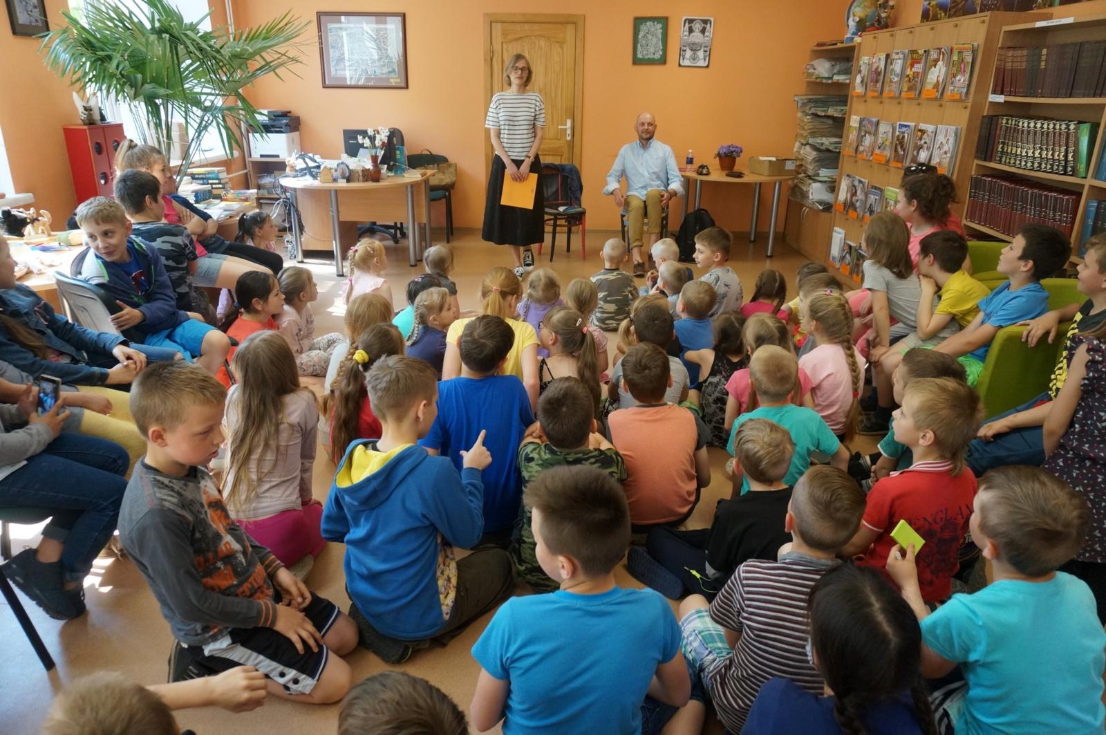 Poezijos pavasarėlyje – Mariaus Marcinkevičiaus poezija vaikams