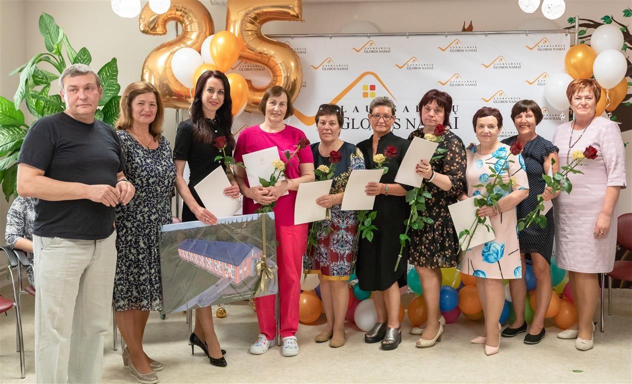 Lauksargių globos namai švenčia 25 metų veiklos metines