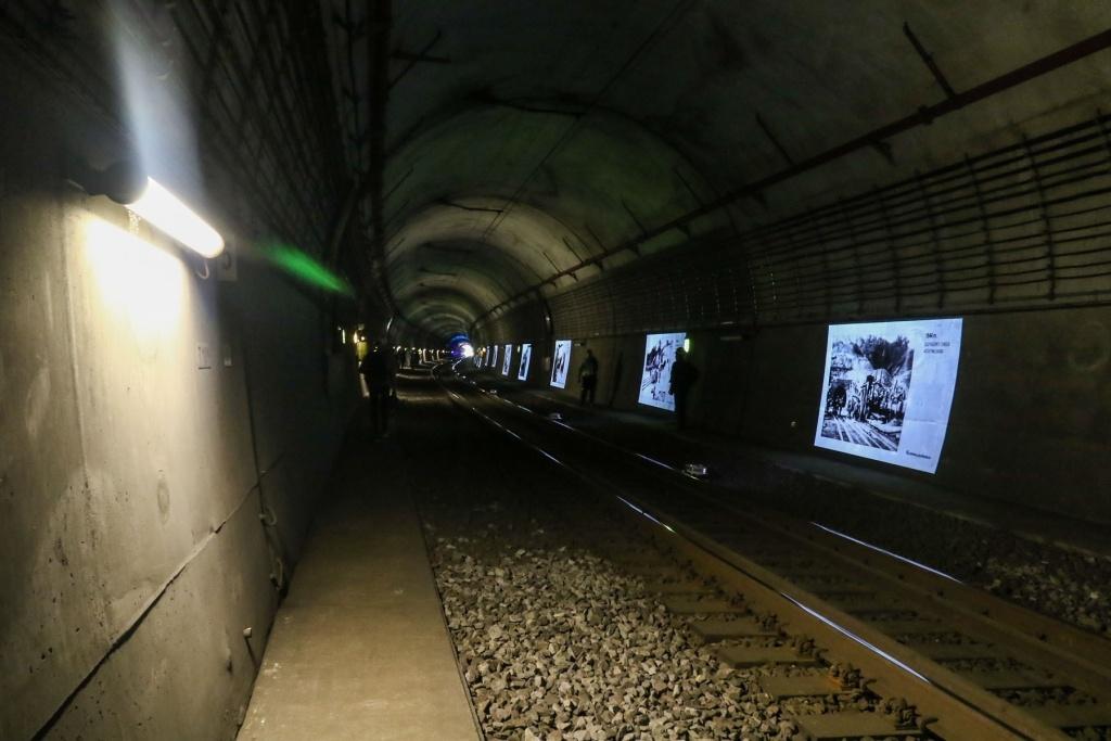 Kauno geležinkelio tunelį aplankė rekordinis skaičius lankytojų