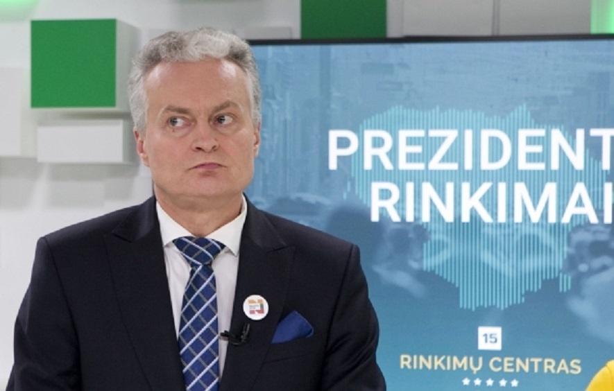 Prezidento rinkimuose stipriai pirmauja G. Nausėda