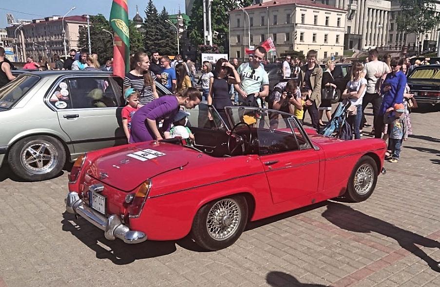 Baltarusiai įvertino pasvaliečio automobilį