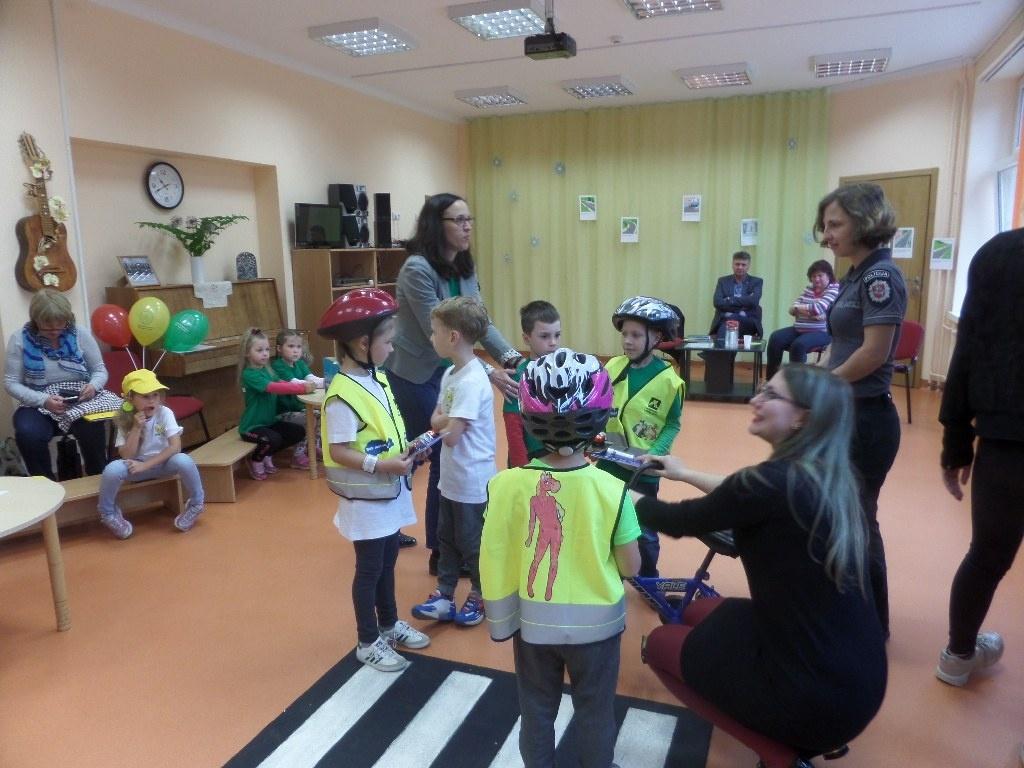 Rajoninis priešmokyklinio ugdymo grupių saugaus eismo renginys