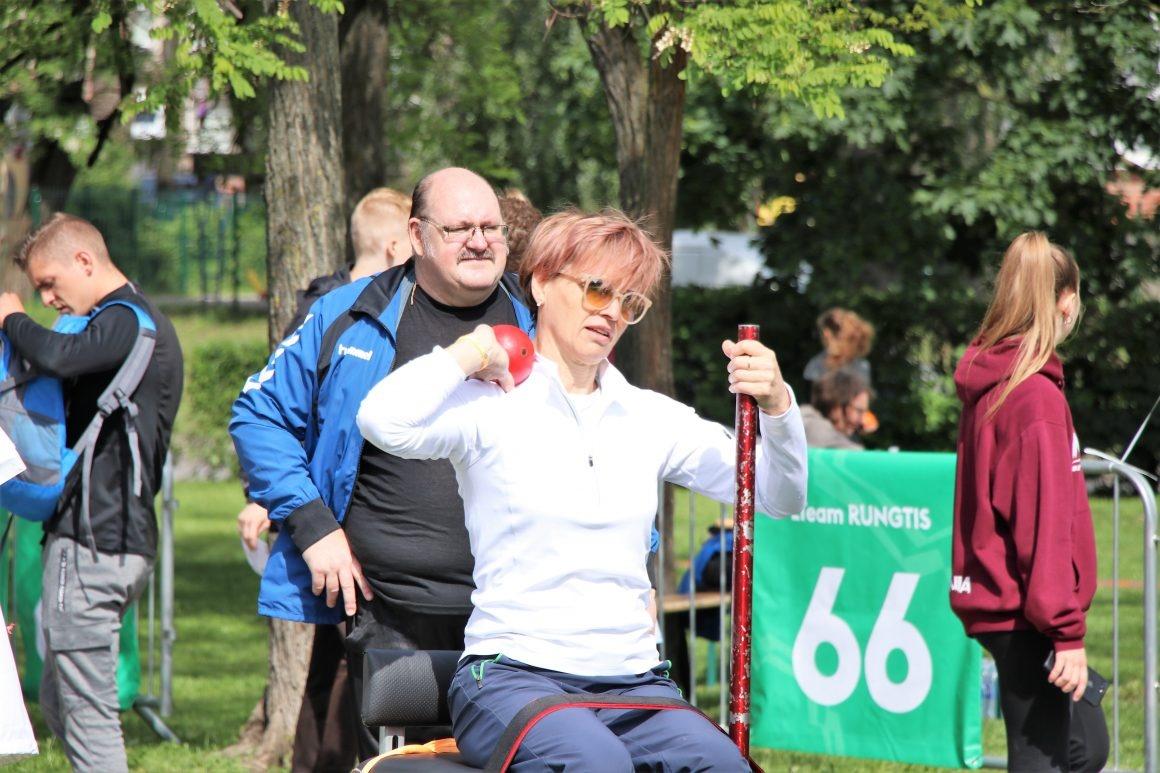 Olimpinėje dienoje – paralimpiečių iššūkis sporto entuziastams