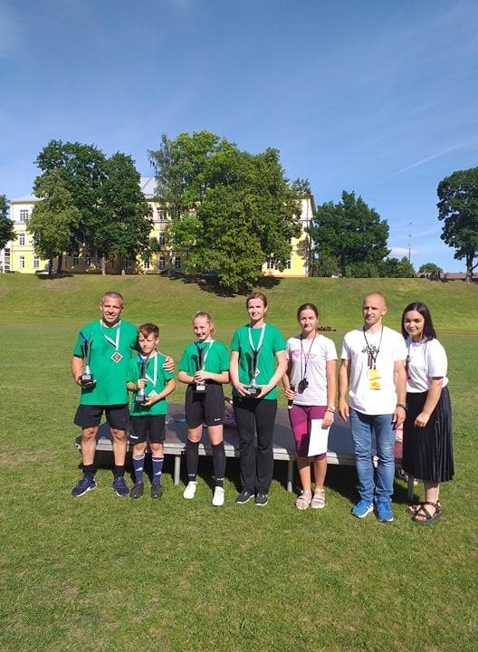 Marijampolėje Cukrinis festivalis ir jame  – šeimų futbolo šventė.