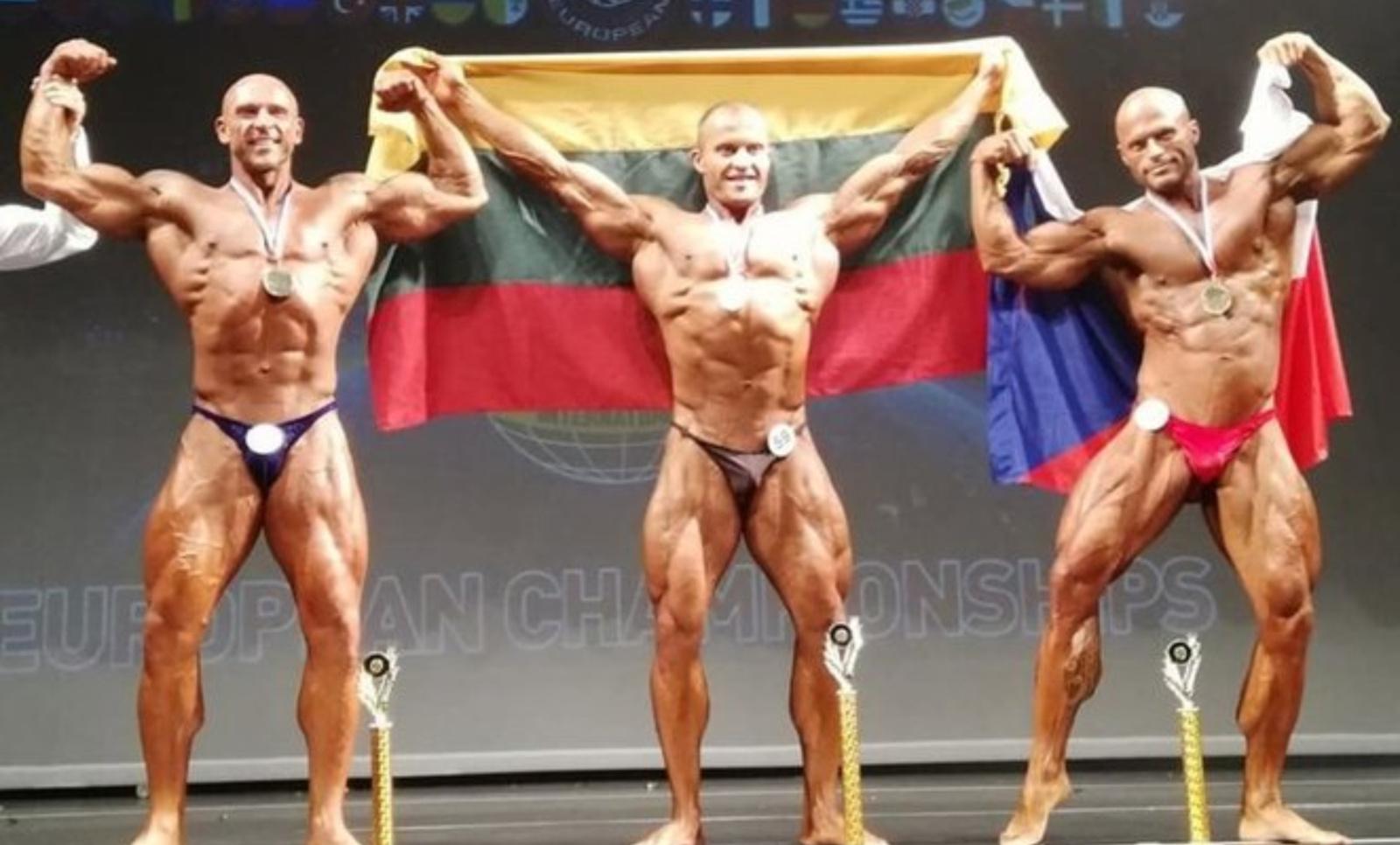 Dėl dopingo vartojimo diskvalifikuotas kultūristas N. Bružas tapo Europos čempionu