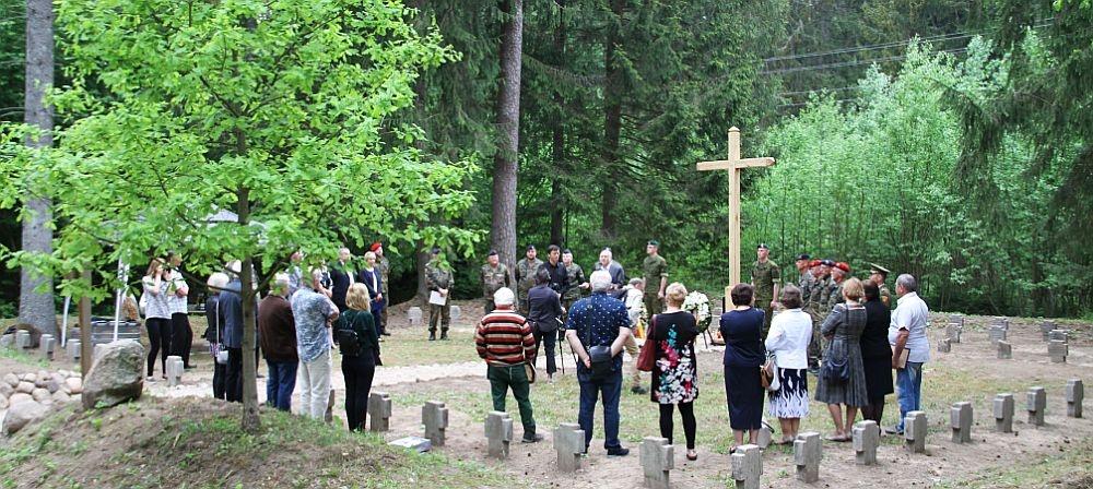 Onuškio seniūnijoje sutvarkytos vokiečių karių kapinės