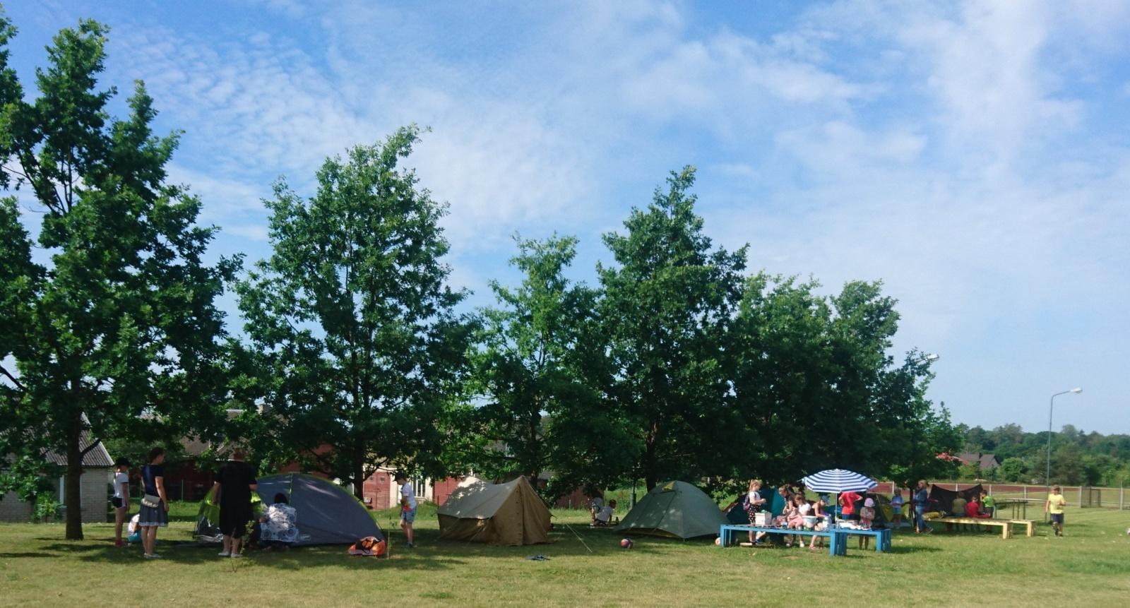 Miesto progimnazijose startavo vasaros stovyklos