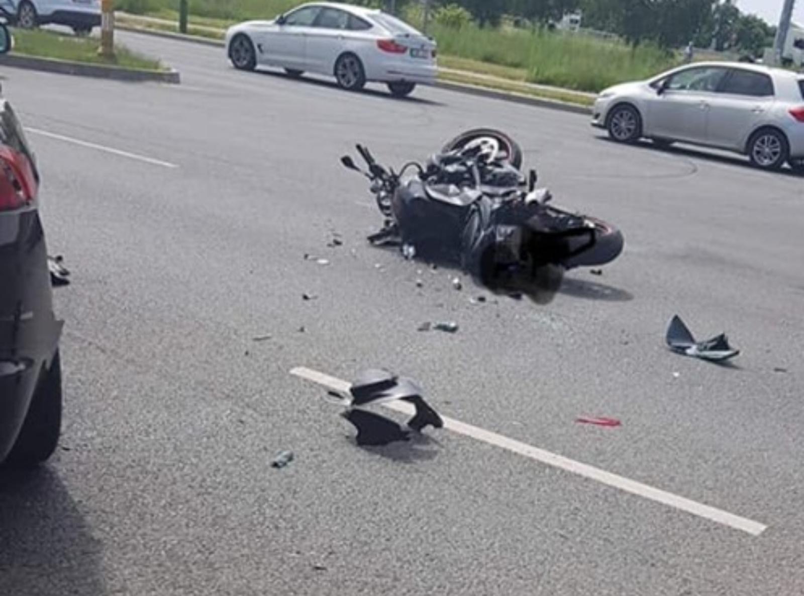 Per avariją Klaipėdoje žuvo motociklininkas