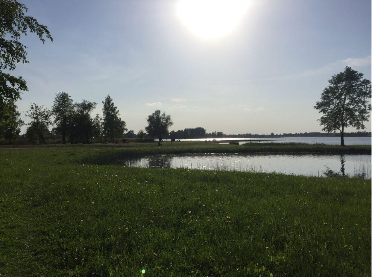 Biržų rajone esančiame ežere maudytis gali būti pavojinga