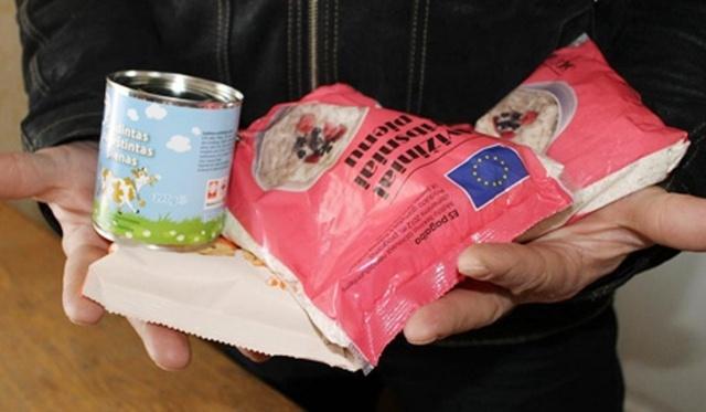 Skurstantiesiems – maisto ir higienos prekių paketai