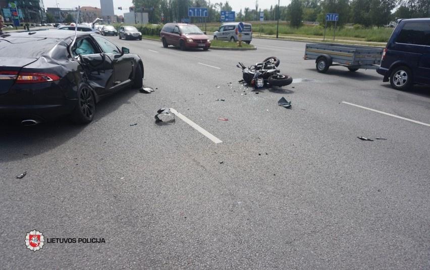 Ieškomi liudininkai, matę eismo įvykį Minijos gatvėje