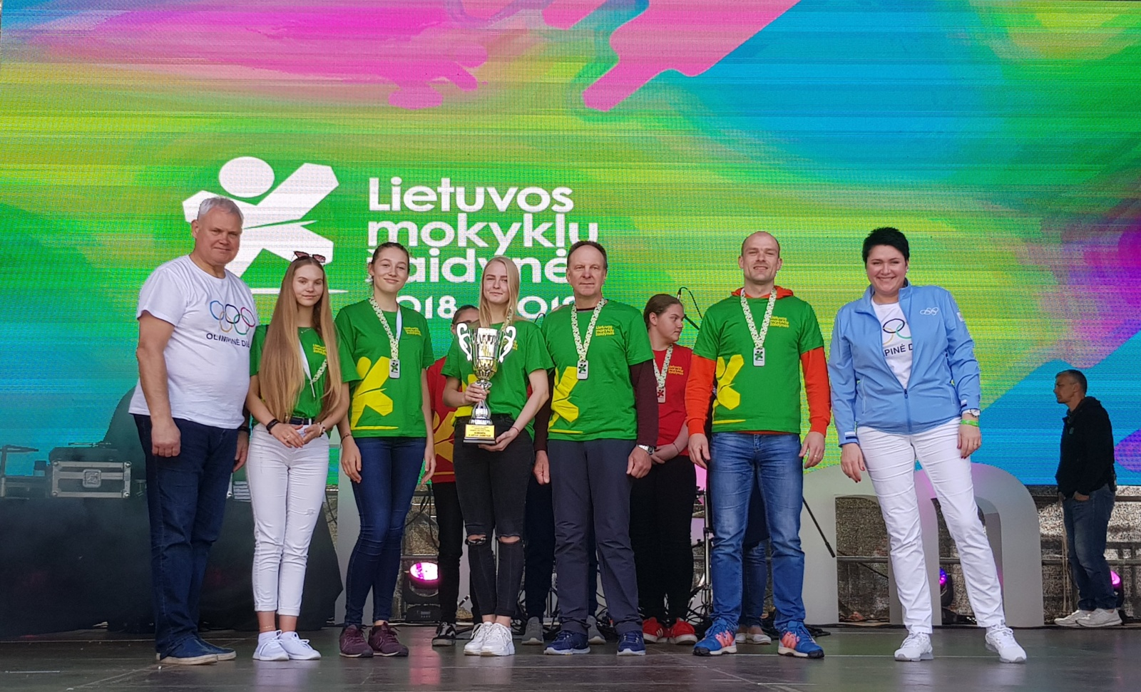 Lietuvos mokyklų žaidynių finalo prizininkės