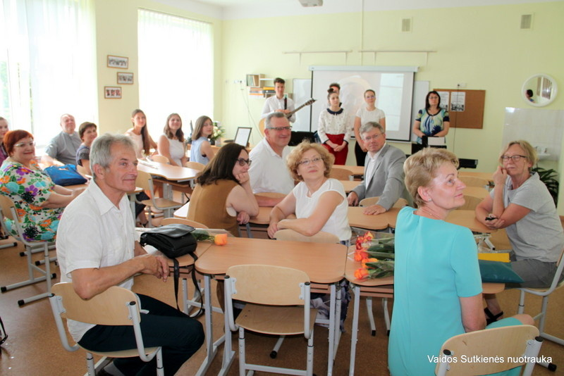 Atidaryta rašytojo Vlado Kalvaičio vardo klasė