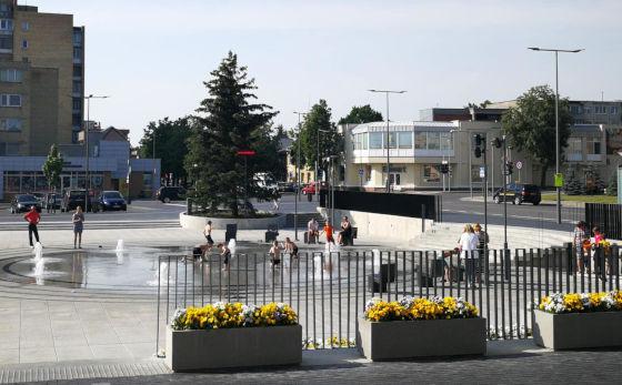 Informacija apie Radviliškio rajono maudyklų ir Aušros aikštės fontano vandens kokybę