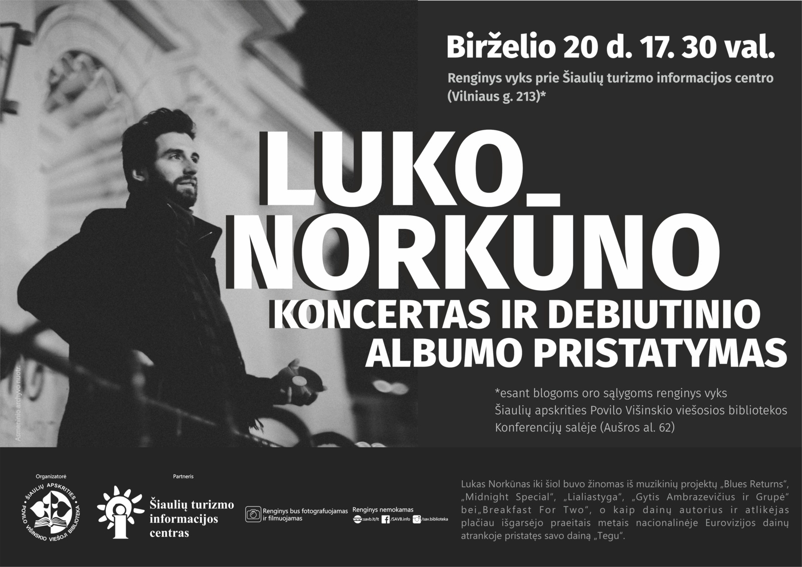 Luko Norkūno koncertas