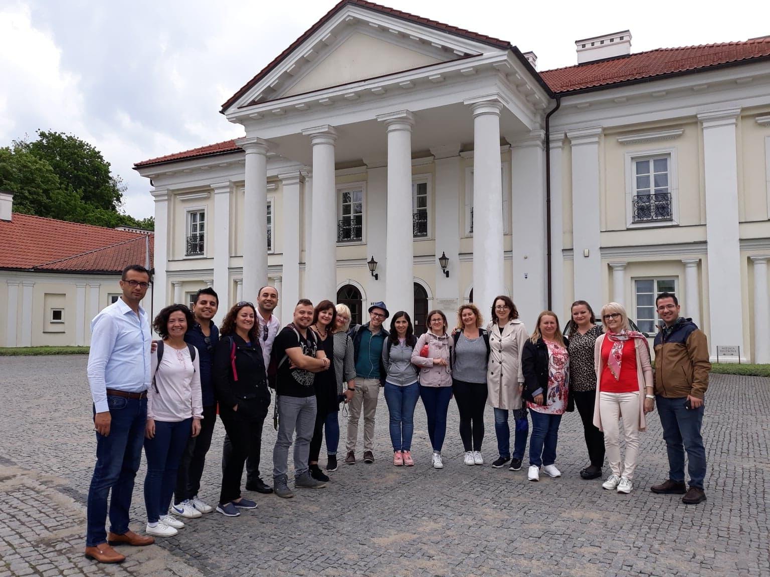 """Trečiasis """"Erasmus+"""" projekto """"Future Unique To Us, Robotics and E-Learning"""" dalyvių susitikimas Lenkijoje"""