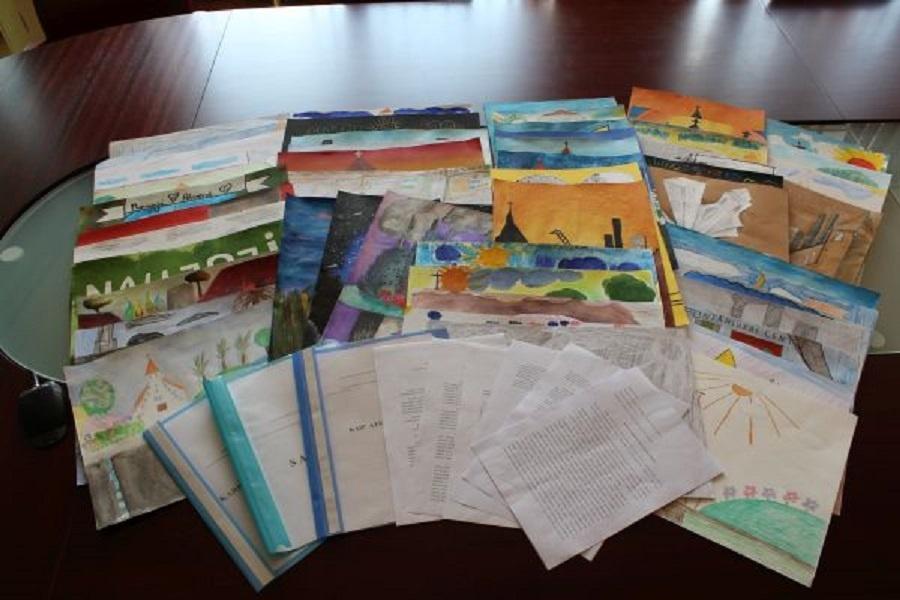 Išrinkti Naujosios Akmenės miesto jubiliejui skirtų piešinių konkurso nugalėtojai