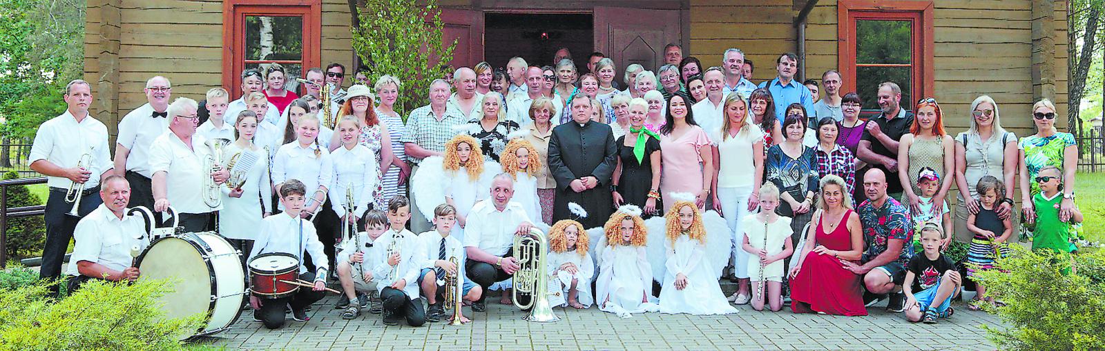 Jūrės miestelis atšventė bendruomenės jubiliejų