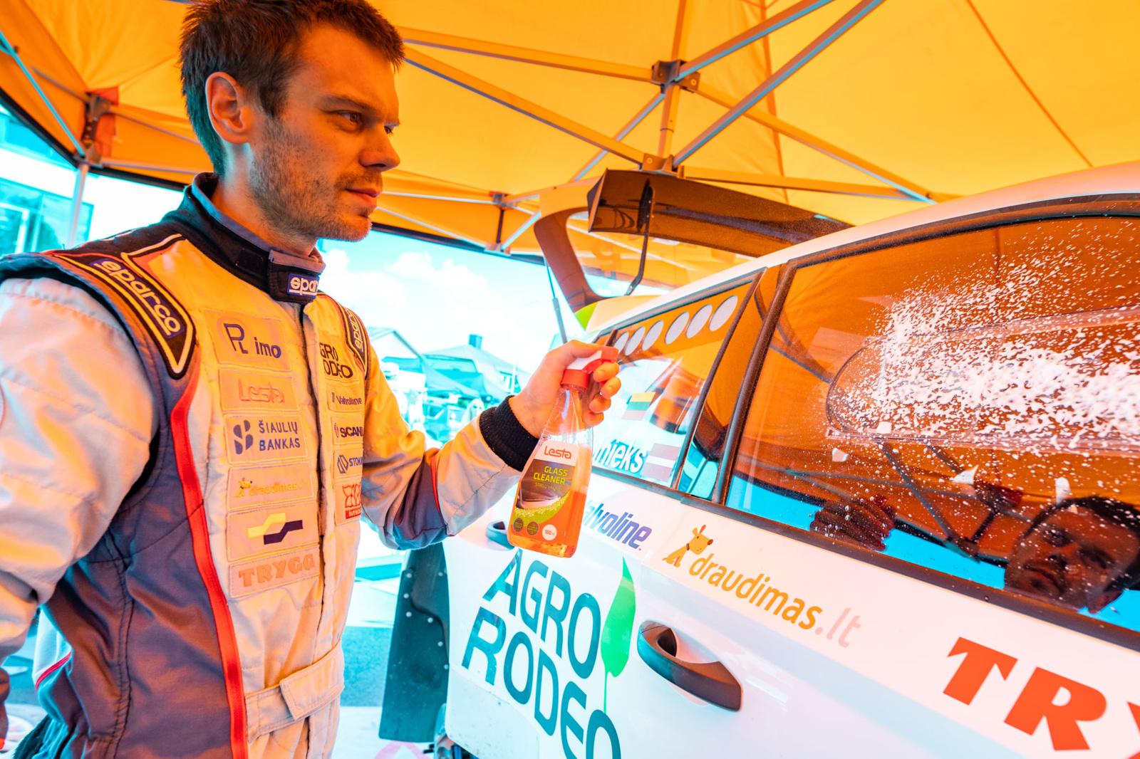 """""""Rally Žemaitija 2019"""" totalizatoriaus favoritas – Vaidotas Žala"""