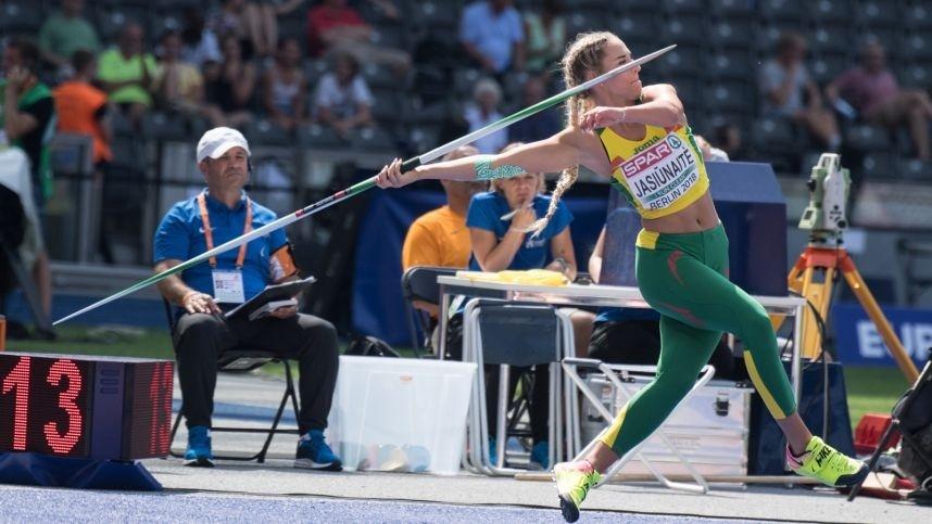 Latvijoje vykstančiame čempionate - lietuvių rekordai