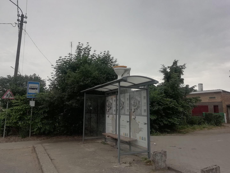 Autobusų stotelės vaizdas pribloškė ir visko mačiusius