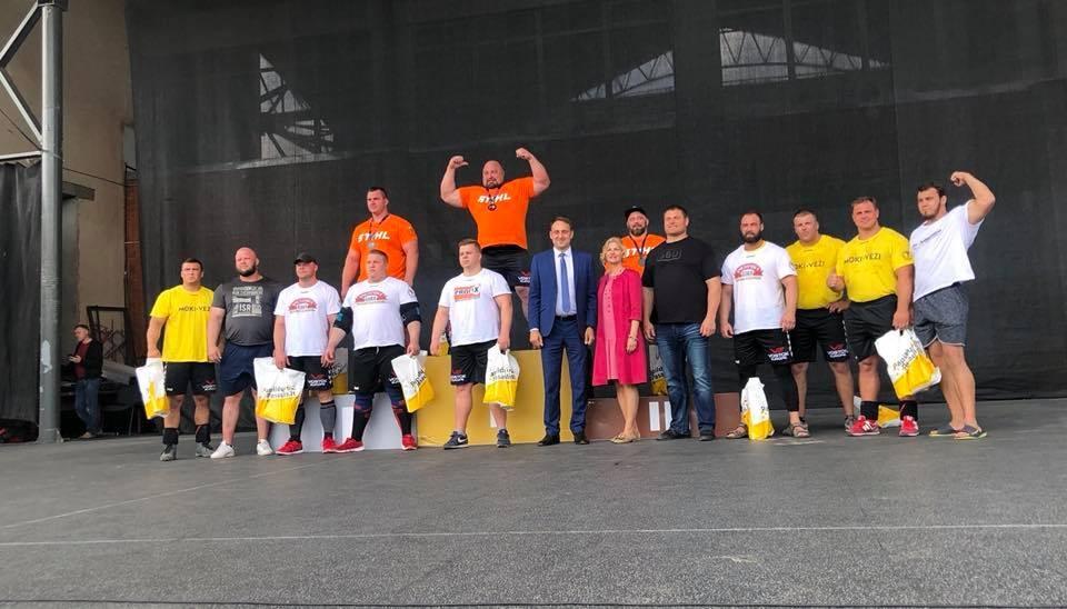 Lietuvos galiūnų čempionato etape Alytuje – V. Blekaičio pergalė
