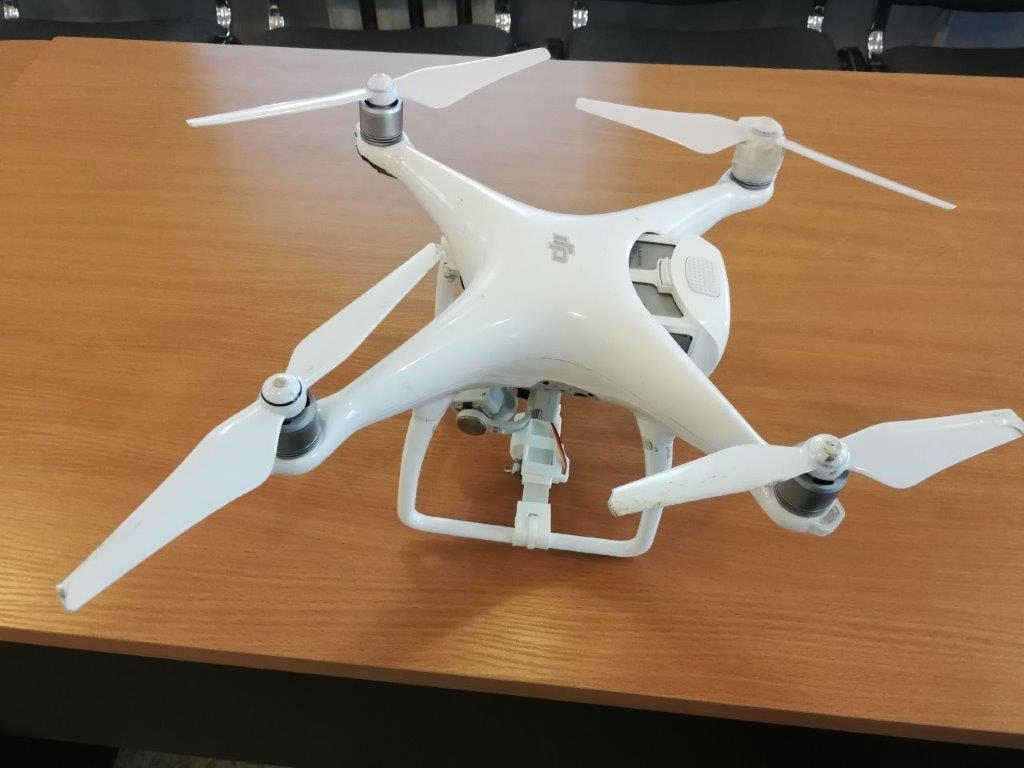 Virš Alytaus pataisos namų neutralizuotas dronas