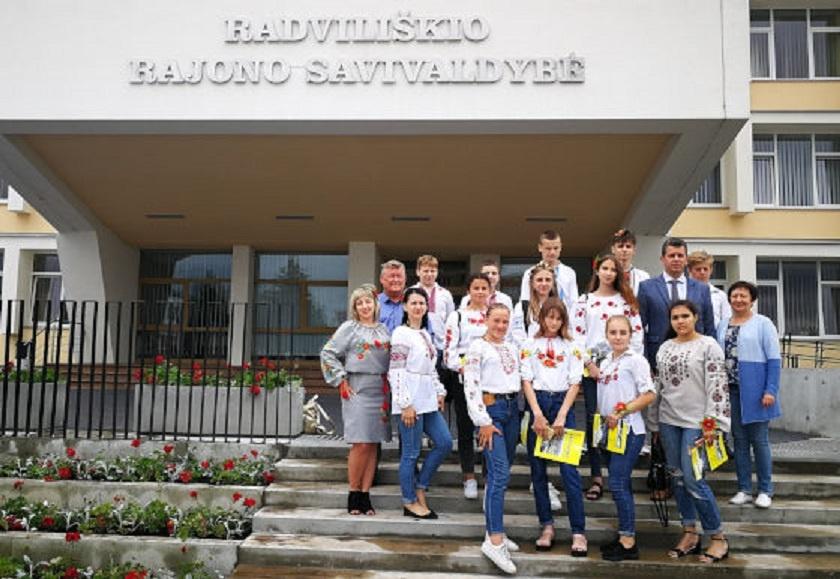 Mokiniai iš Umanės visą savaitę stovyklaus Lietuvoje