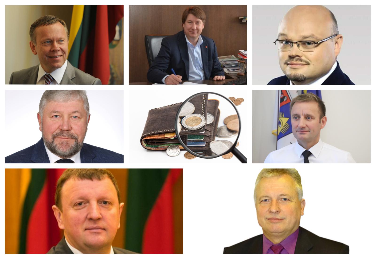 Politikų turto deklaracijos: kuris Šiaulių apskrities meras turtingiausias?