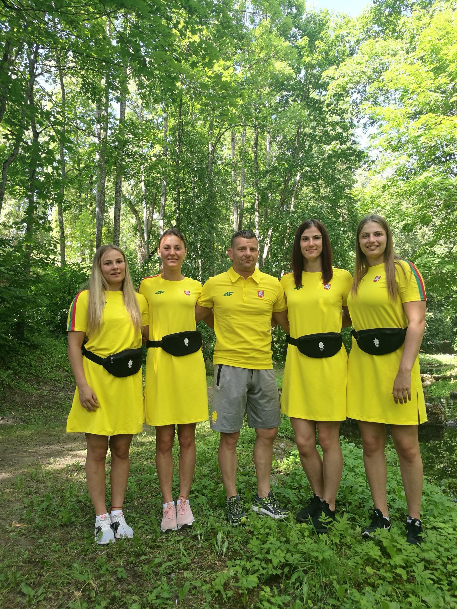 Europos olimpinėse žaidynėse Minske kovos keturios moterų imtynių stiliaus imtynininkės