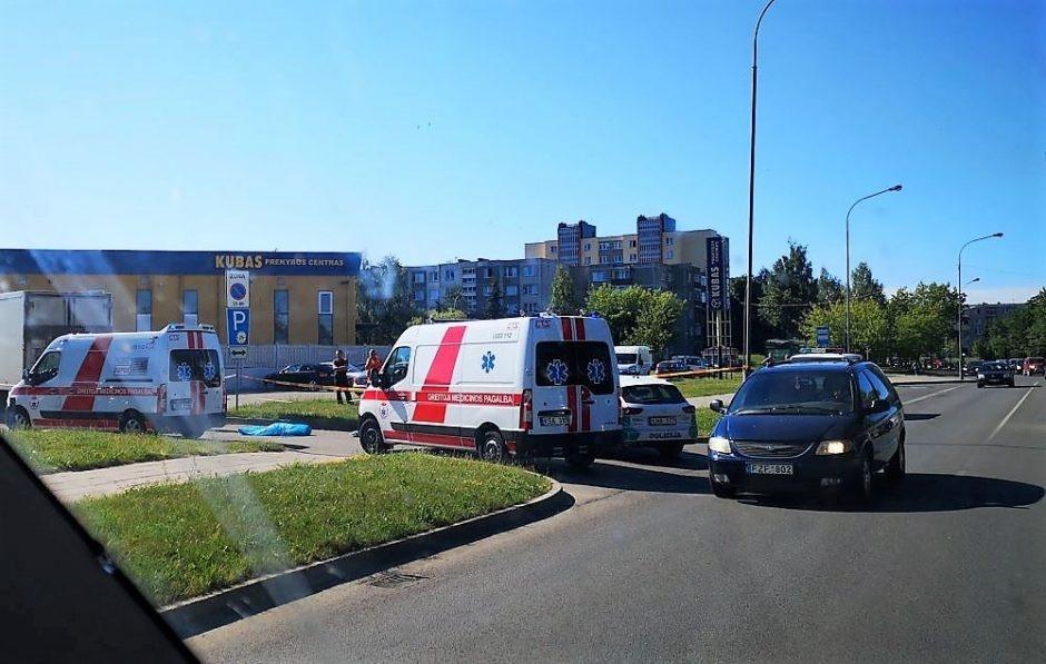 Tragiška nelaimė Panevėžyje: žuvo dviratininkas