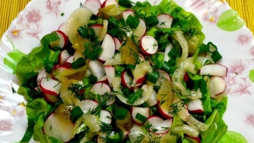 Gaivios salotos karštoms vasaros dienoms