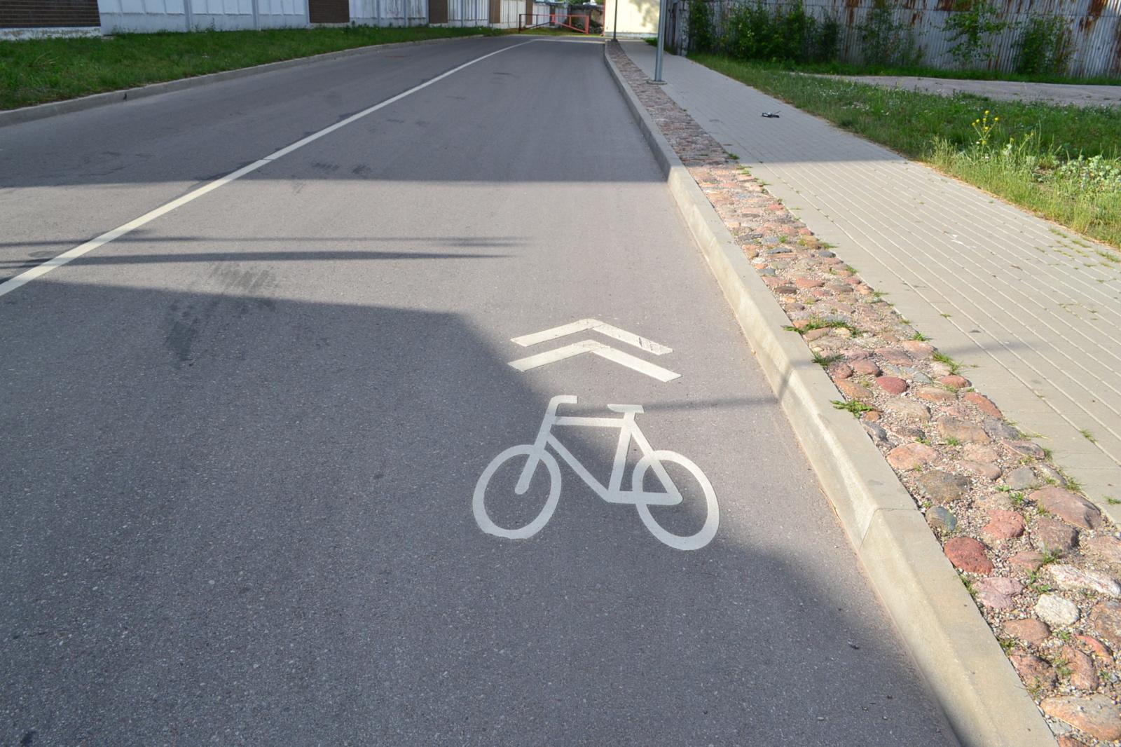 Klaipėdoje partrenktas dviratininkas