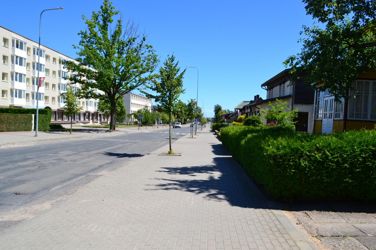Mosėdyje už 164 tūkst. eurų bus tvarkomos viešosios erdvės