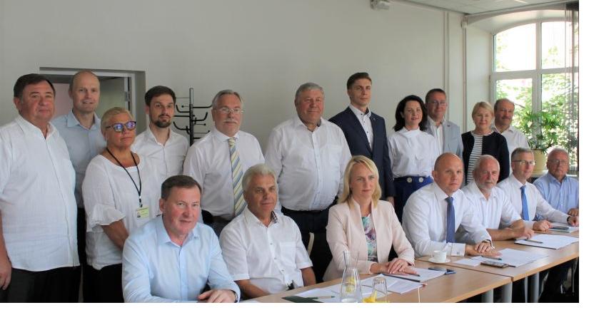 Lietuvos savivaldybių asociacijos posėdyje aptarti svarbiausi klausimai
