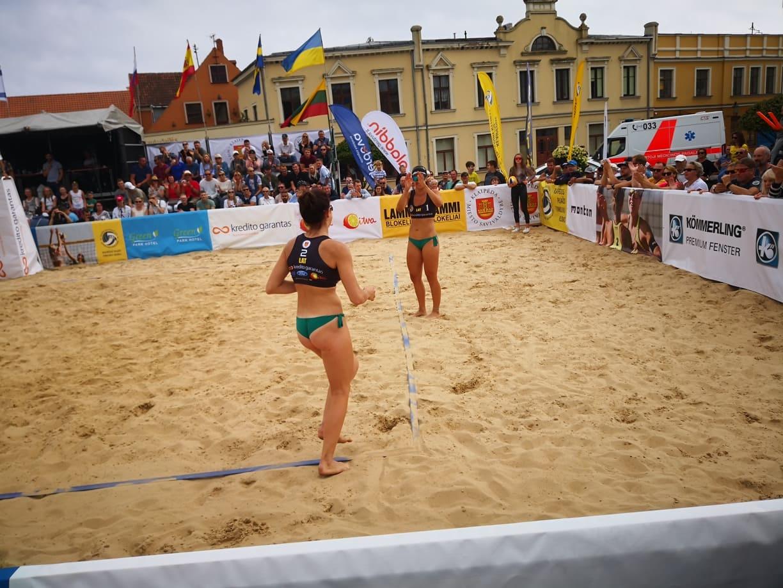Tarptautinis paplūdimio tinklinio turnyras Klaipėdos centre - sėkmės pavyzdys miestams (nuotraukų galerija)