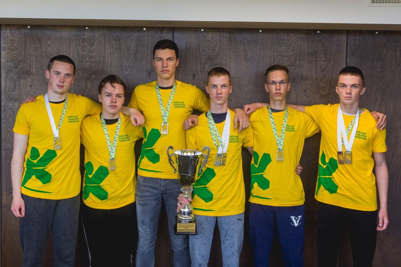 Biržų rajono moksleiviai – vieni sportiškiausių