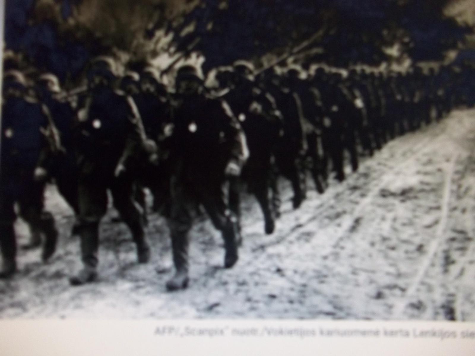 Vokiečiai ir įstrigę atmintyje vaizdeliai
