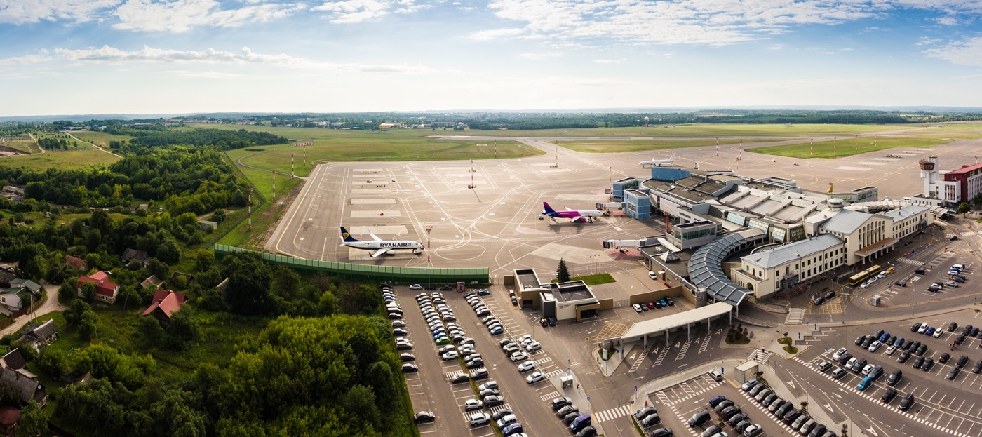 Vilniaus oro uoste planuojama orlaivių perono šiaurinės dalies rekonstrukcija