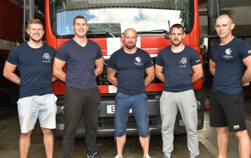 Stipriausi šalies ugniagesiai gelbėtojai išvyko į tarptautinį čempionatą