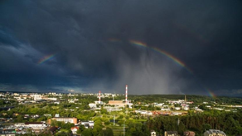 Savaitgalį visą šalį merks lietus
