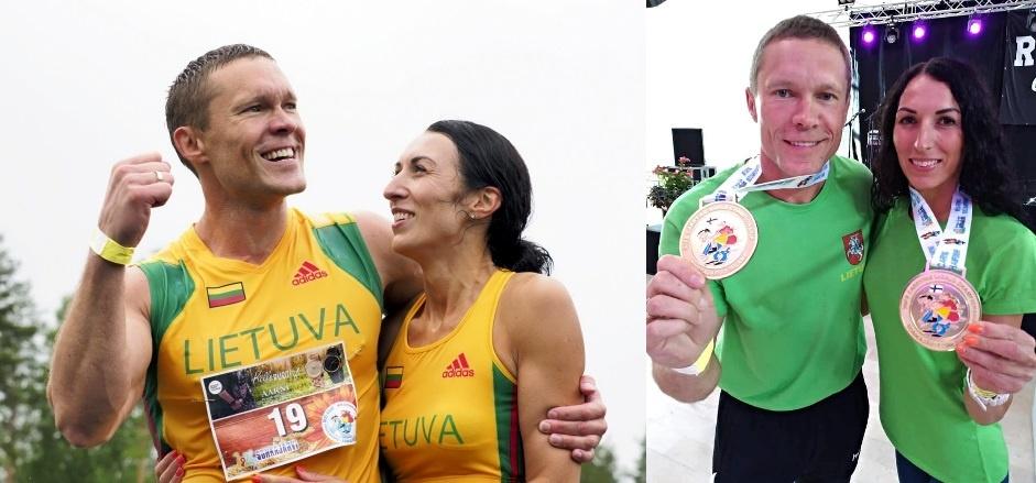 Pasaulio žmonų nešimo čempionate vėl triumfavo lietuvių pora